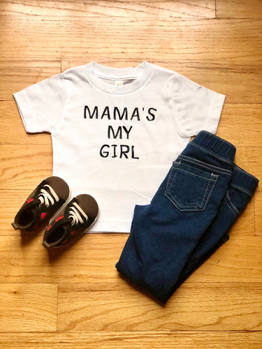 Mama's My Girl Shirt {Boy}