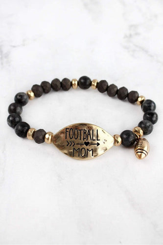 Football Mom Bracelet {online only}