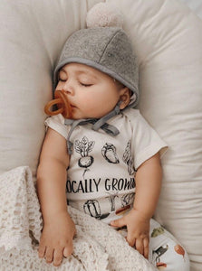 Locally Grown Onesie & Tee