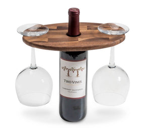 Wine Glass Holder with Endgrain (1 in stock)