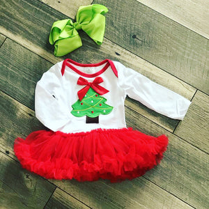 Christmas Tree Ruffle Tutu