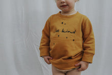 "Load image into Gallery viewer, ""Be Kind"" Organic Cotton Sweater"