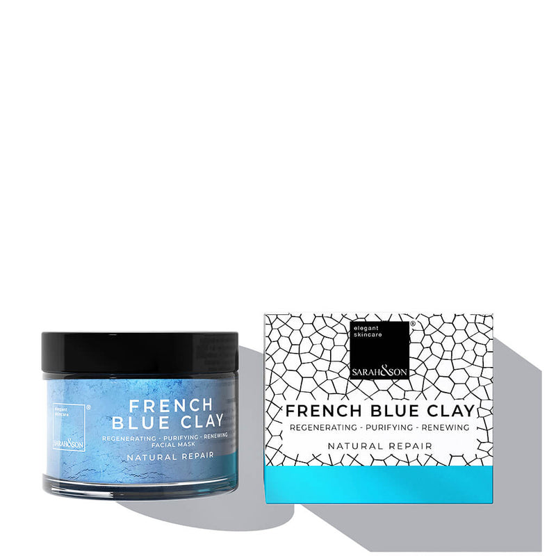 Blue blaue Clay Maske-Spot Treatment Mask Gesichtsmaske Sarah and Son-detox