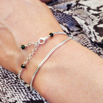 Curb Chain Stacker Bracelet