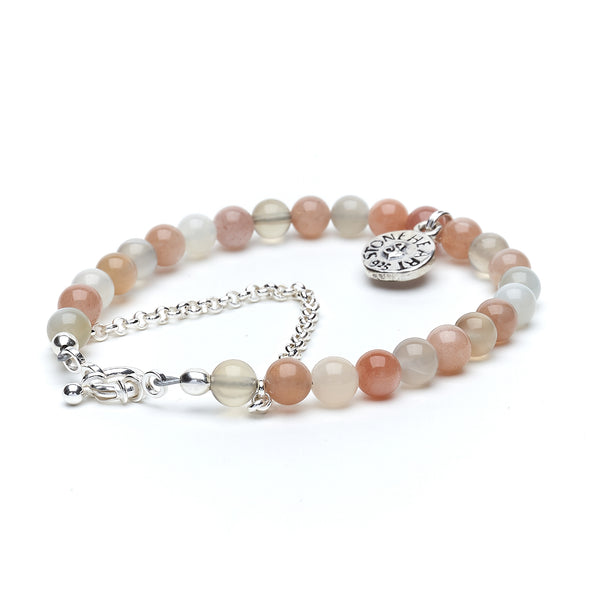 Moonstone Sea Turtle Bracelet