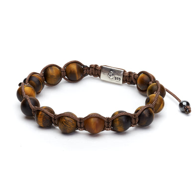 Golden Tigers Eye Wrap Bracelet (10mm)