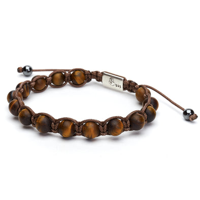 Golden Tiger's Eye Wrap Bracelet (8mm)