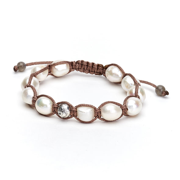 Fresh Water Pearl Wrap Bracelet