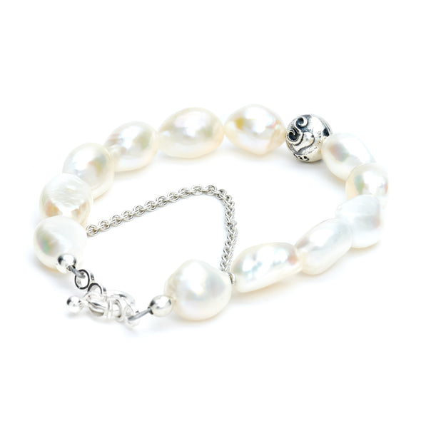 Fresh Water Pearl Ohm Bracelet