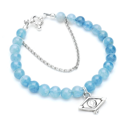Seeing Eye Aqua Bracelet