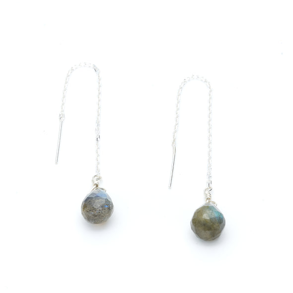 Labradorite Threaders