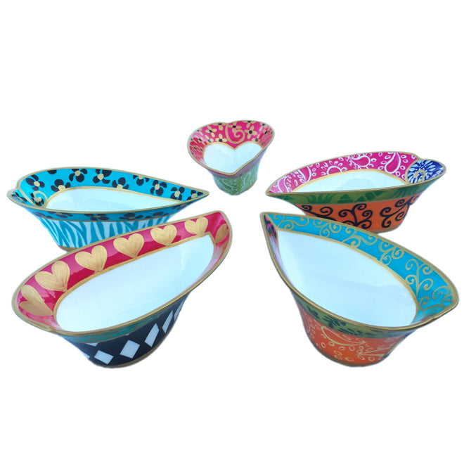 Heart Shaped Bowls