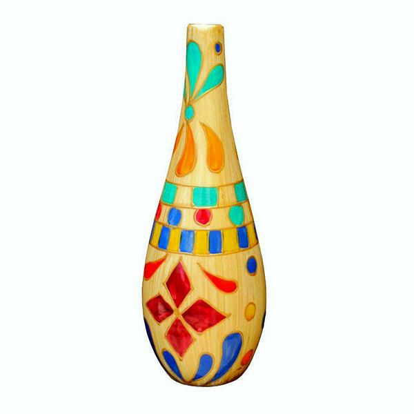 QUEEN OF SHEBA Painted Olive Oil Bottle, gift boxed