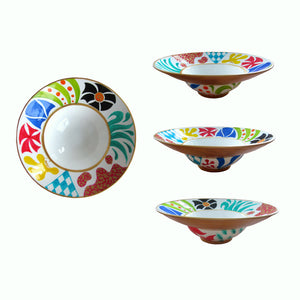 BRILLIANT - Hand Painted Bone China Bowl - Limited Edition