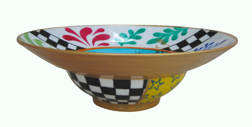 UNDERWATER - Hand Painted Bone China Bowl - Limited Edition