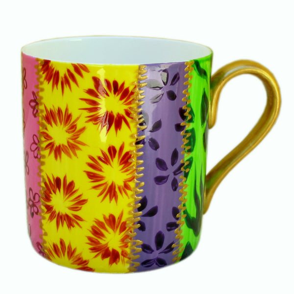 TSARINA - Single Hand Painted Bone China Mug, gift boxed