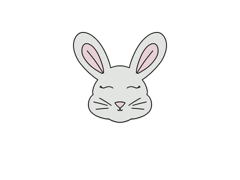 Bunny Face - Straight Ears