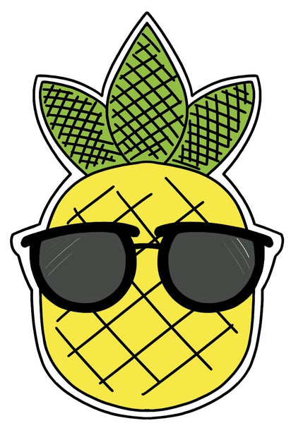 Summer Set (Pineapple with Sunglasses)