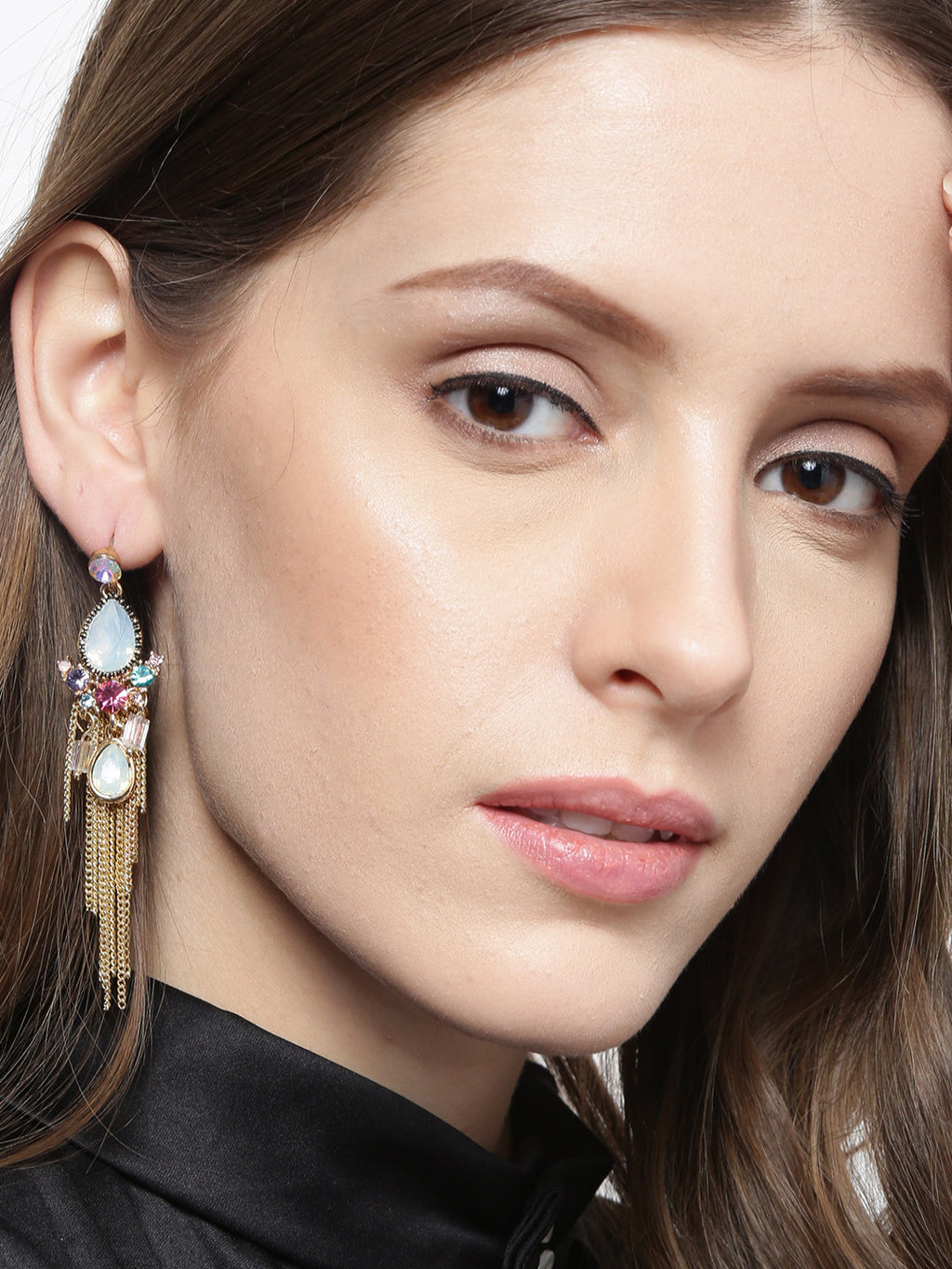 HANDCRAFTED CONTEMPORARY DROP EARRINGS