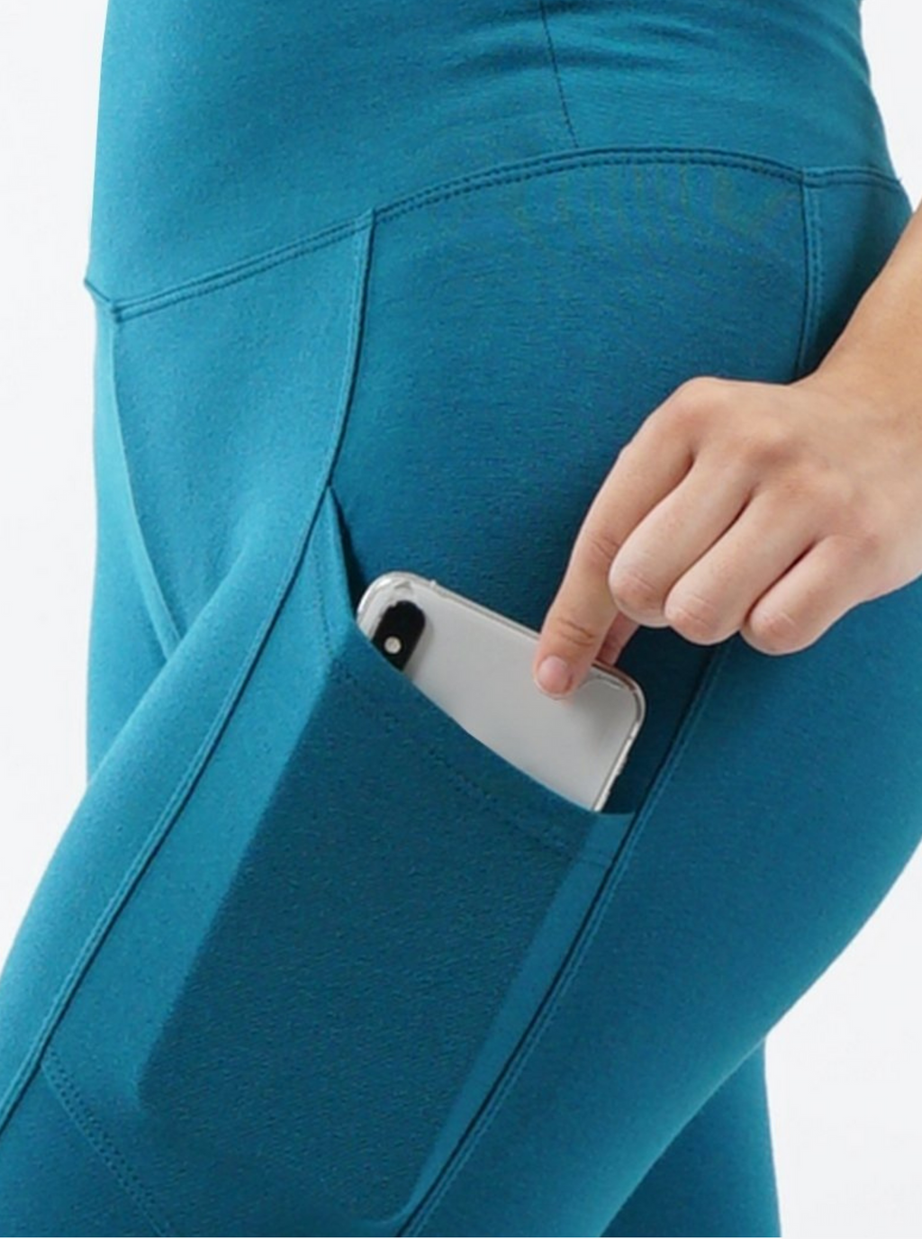 tummy control/compression leggings with side pocket