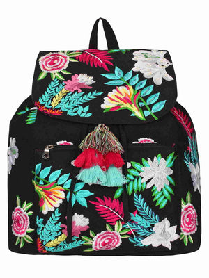 FLORAL BACKPACK - chique boutique
