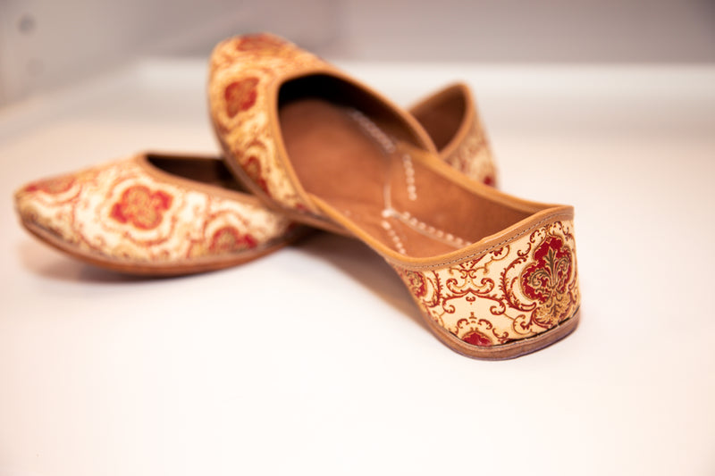 PRINTED ROYAL MOJRI (FLATS)