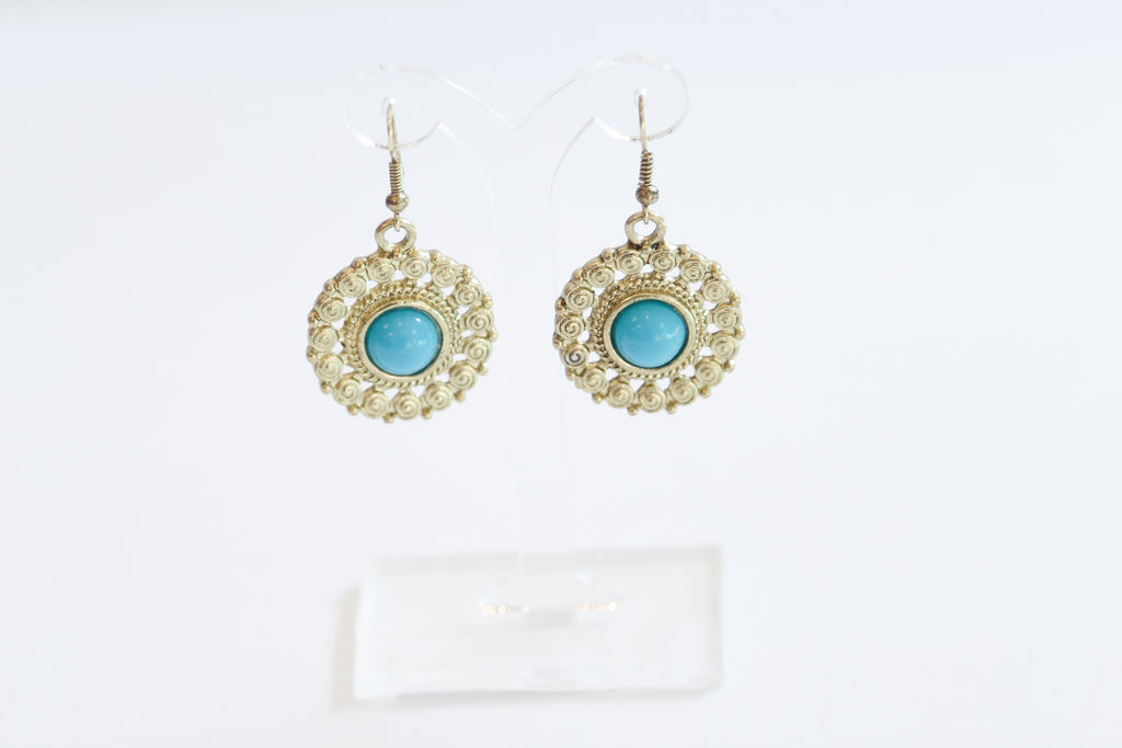 'BLUE SUN' EARRINGS - chique boutique