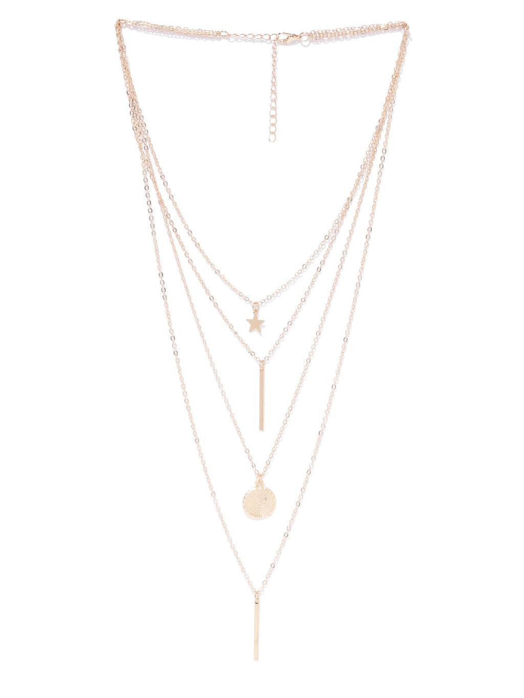 MULTI-LAYERED MINIMALIST NECKLACE