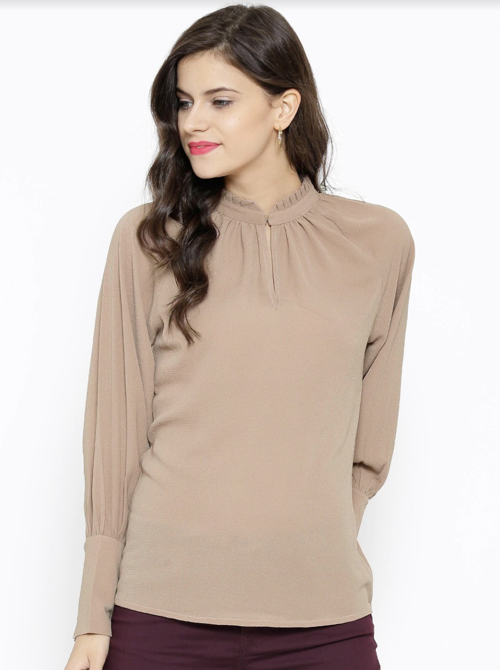 GEORGETTE TEXTURED TOP