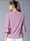 MAUVE SOLID TOP - chique boutique