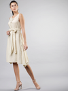 KHADI SLEEVELESS DRESS - chique boutique