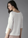 SOLID TUCK DETAILED TOP - chique boutique