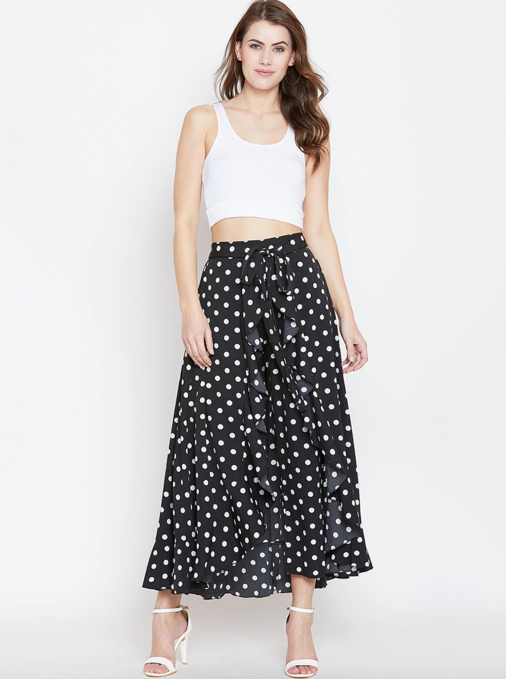 SKIRTY-PANT POLKA DOTS