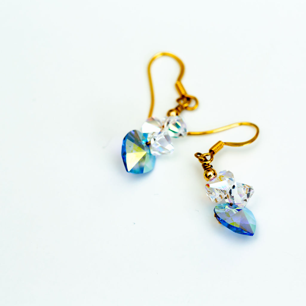CRYSTAL EARRINGS - chique boutique