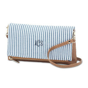 COTTON FABRIC CLUTCH PURSE - chique boutique