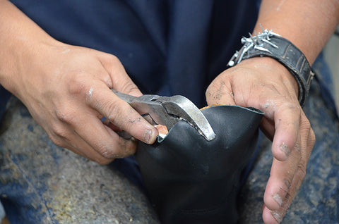 Handcrafting a Silver Canyon Boot
