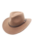 Denver Outback Wool Cowboy Hat in Pecan