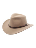 Denver Outback Wool Cowboy Hat in Putty