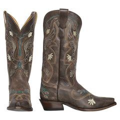 Silver Canyon Womens Juliet Heritage Cowboy Boot