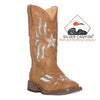 Silver Canyon Children Cowboy Cowgirl Boots for Boys and Girls