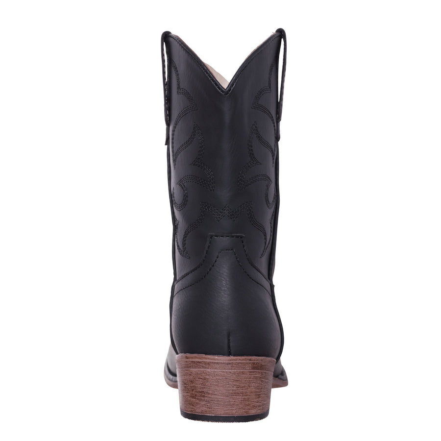 Children Western Cowboy Boot, Boys, Black