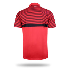 Wickham Red Lightweight Polo