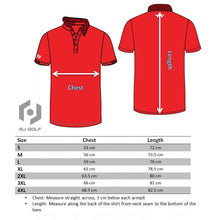Load image into Gallery viewer, Wickham Red Lightweight Polo