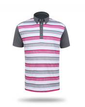 Load image into Gallery viewer, Cheltenham Grey Lightweight Polo