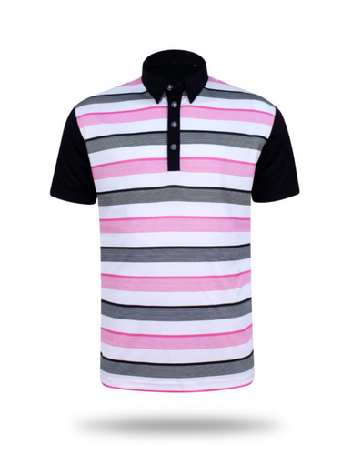 Cheltenham Black Lightweight Polo