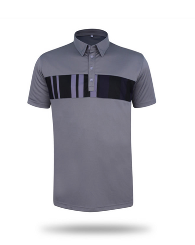 Kensington Grey Lightweight Polo