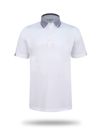 Karrinyup White Lightweight Polo