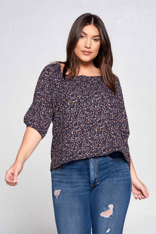 MULTI OFF THE SHOULDER TOP