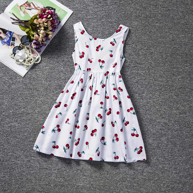 Tulle Lace Summer Kids Dresses For Kids Flowers 2019 New Embroidered Children Clothing Princess Dress 4-10 Years Causal Wear