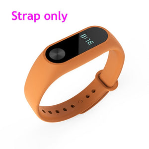 For Xiaomi Mi Band 2 Bracelet Strap Smart Watch Replacement Strap   Belt Silicone Strap Wristband For Xiaomi Smart Accessories